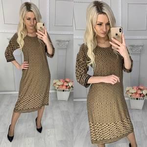 Платье короткое с принтом Х4259