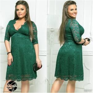 Платье короткое нарядное Ю2950