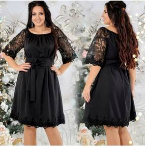 Платье короткое нарядное Я1940