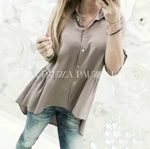 Рубашка удлиненная Я3201