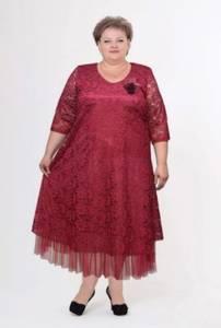 Платье длинное нарядное Я4936