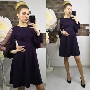 Платье короткое нарядное современное Х8945