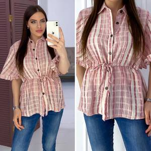 Рубашка с коротким рукавом Я7165