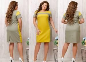 Платье короткое летнее Я7845