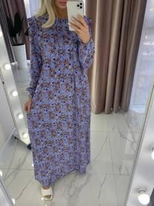 Платье длинное с длинными рукавами А37907