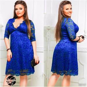 Платье короткое нарядное Ю2951