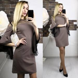 Платье короткое нарядное современное Х8946