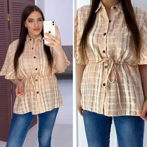 Рубашка с коротким рукавом Я7166