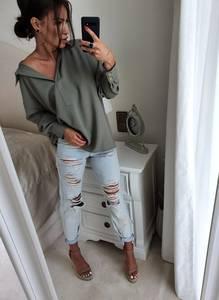 Блуза с длинным рукавом А13327