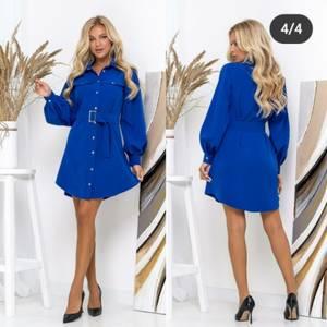 Платье короткое с длинным рукавом А31964