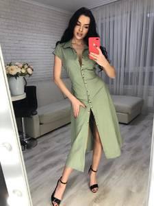 Платье длинное летнее Я6436