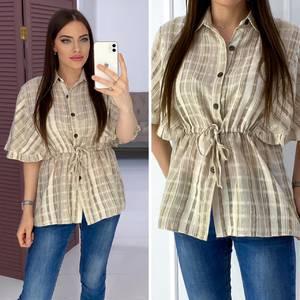Рубашка с коротким рукавом Я7167