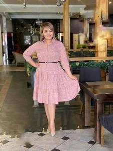 Платье короткое нарядное А39168