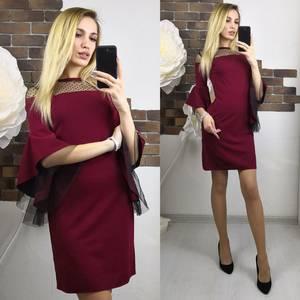 Платье короткое нарядное современное Х8948