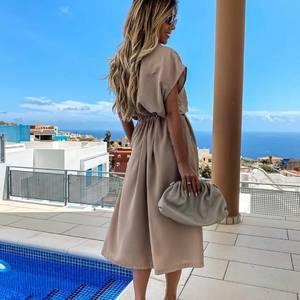 Платье длинное повседневное Я5273