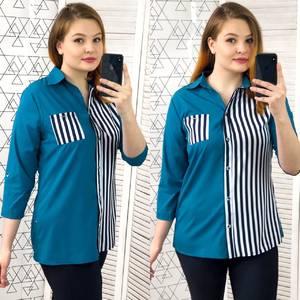 Рубашка с коротким рукавом Х9594