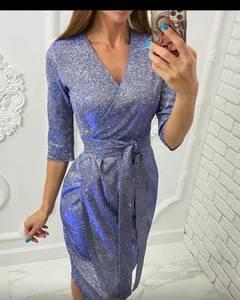 Платье короткое нарядное А58460