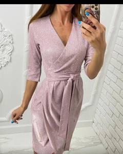 Платье короткое нарядное А58462