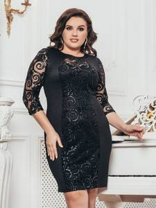 Платье короткое нарядное А58465