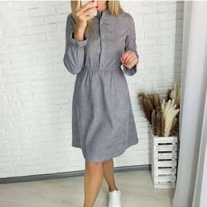 Платье короткое с длинным рукавом А58470