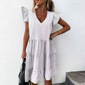 Платье короткое летнее А40102