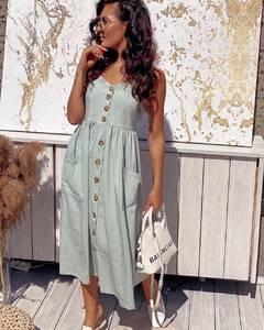 Платье длинное летнее Я5432