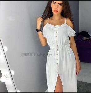 Платье длинное летнее Я7590