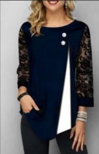 Блуза нарядная А26070