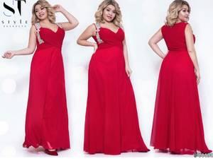 Платье длинное нарядное Я0296
