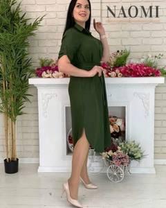 Платье длинное однотонное А31309