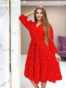 Платье короткое нарядное А48261