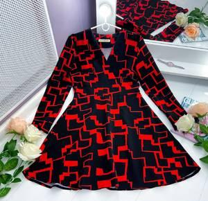 Платье короткое нарядное Я5375