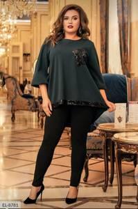 Блуза нарядная А24022