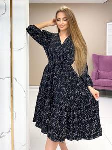 Платье короткое нарядное А48262