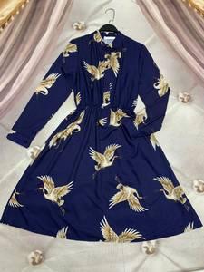 Платье короткое с длинным рукавом Ю6486