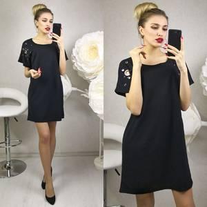 Платье короткое современное Ц2375