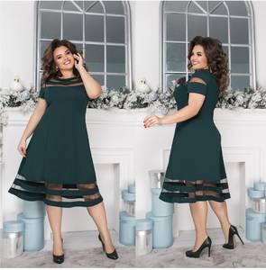 Платье короткое нарядное Я2450