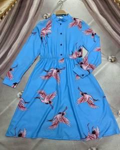 Платье короткое современное Ю6489