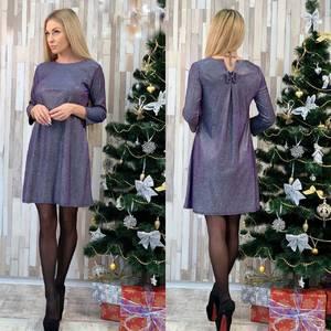 Платье короткое нарядное А58502