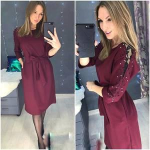 Платье короткое нарядное А58551