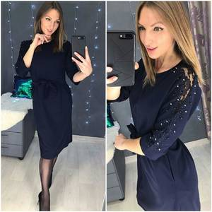 Платье короткое нарядное А58552