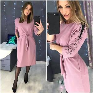 Платье короткое нарядное А58554
