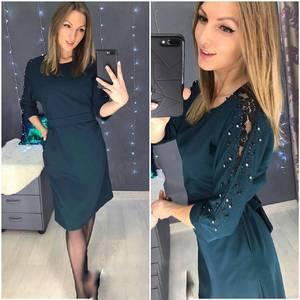 Платье короткое нарядное А58555