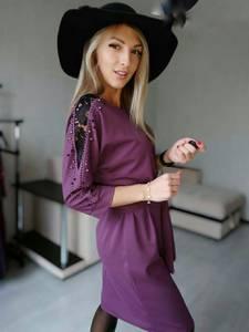 Платье короткое нарядное А58556