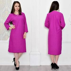 Платье длинное вечернее однотонное Т0454