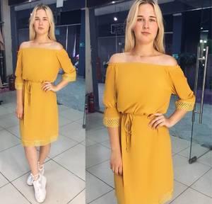 Платье короткое повседневное современное Т8069