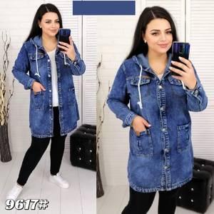 Джинсовая куртка А30233