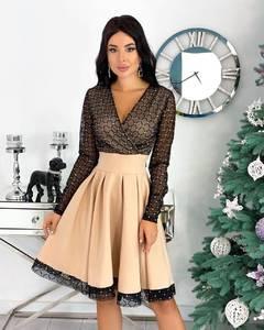 Платье короткое нарядное А20669