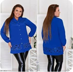 Рубашка однотонная А26074