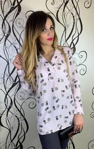 Блуза с длинным рукавом Х7398